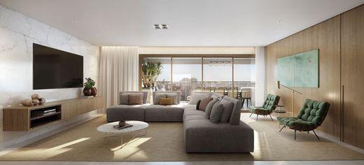 Living - Apartamento à venda Avenida Cotovia,Moema, São Paulo - R$ 3.359.293 - II-14801-25061 - 8