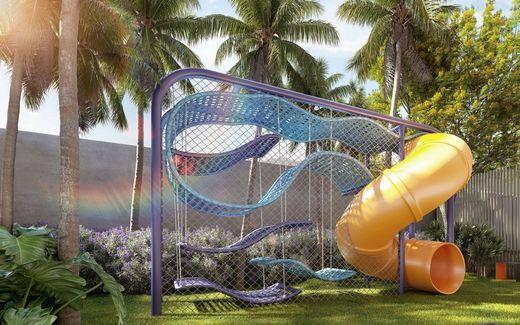 Playground - Apartamento à venda Avenida Cotovia,Moema, São Paulo - R$ 3.359.293 - II-14801-25061 - 24
