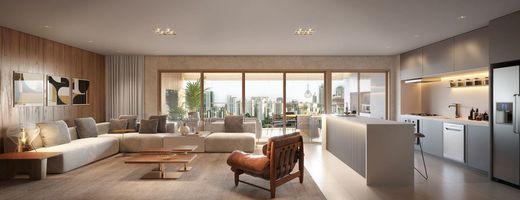 Living - Apartamento à venda Avenida Cotovia,Moema, São Paulo - R$ 3.359.293 - II-14801-25061 - 9