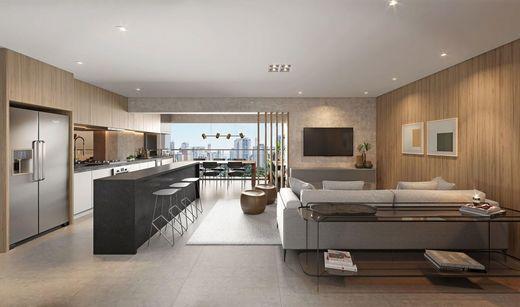 Living - Apartamento à venda Avenida Cotovia,Moema, São Paulo - R$ 3.359.293 - II-14801-25061 - 6