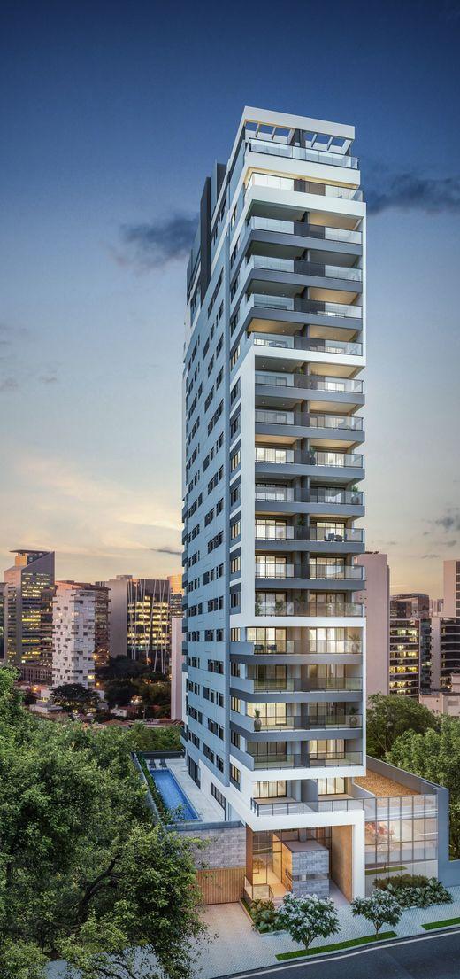 Fachada - Apartamento à venda Rua Pamplona,Jardim Paulista, São Paulo - R$ 1.370.416 - II-15913-26344 - 1