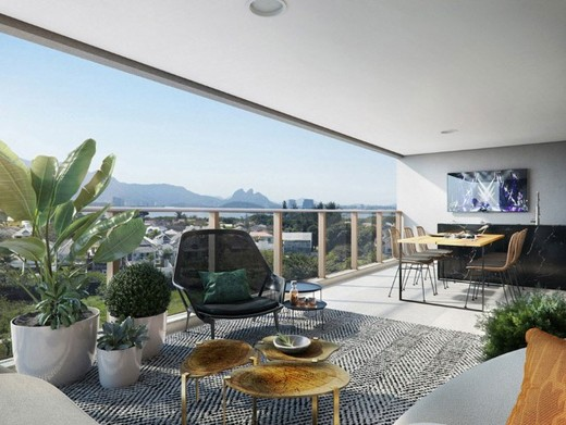 Living - Apartamento 4 quartos à venda Barra da Tijuca, Rio de Janeiro - R$ 2.119.350 - II-16350-26851 - 19
