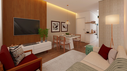 Living - Apartamento 2 quartos à venda Vargem Pequena, Rio de Janeiro - R$ 159.025 - II-16513-27080 - 4