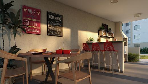 Churrasqueira - Apartamento 2 quartos à venda Vargem Pequena, Rio de Janeiro - R$ 159.025 - II-16513-27080 - 9