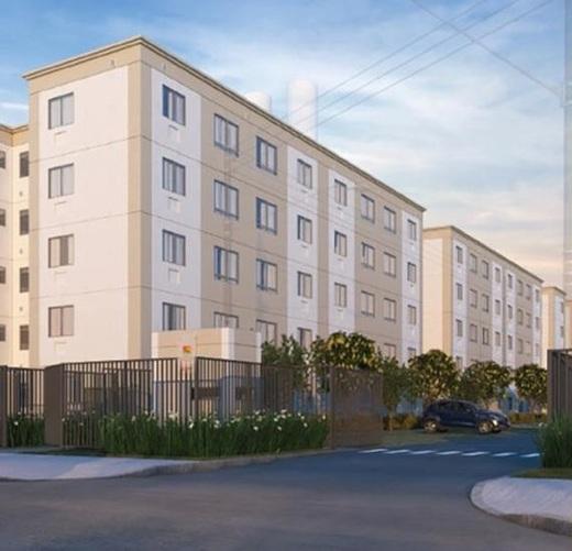 Fachada - Apartamento 2 quartos à venda Vargem Pequena, Rio de Janeiro - R$ 159.025 - II-16513-27080 - 1