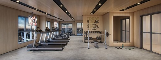 Fitness - Apartamento à venda Rua Gama Lobo,Ipiranga, São Paulo - R$ 995.798 - II-16490-27027 - 14