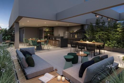 Churrasqueira - Apartamento à venda Rua Gama Lobo,Ipiranga, São Paulo - R$ 995.798 - II-16490-27027 - 20
