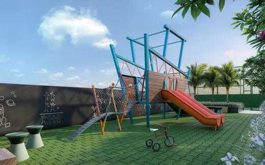 Playground - Apartamento à venda Rua Gama Lobo,Ipiranga, São Paulo - R$ 995.798 - II-16490-27027 - 25