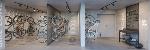 Bicicletario - Apartamento à venda Rua Gama Lobo,Ipiranga, São Paulo - R$ 995.798 - II-16490-27027 - 29