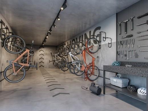 Bicicletario - Apartamento à venda Rua Gama Lobo,Ipiranga, São Paulo - R$ 995.798 - II-16490-27027 - 27