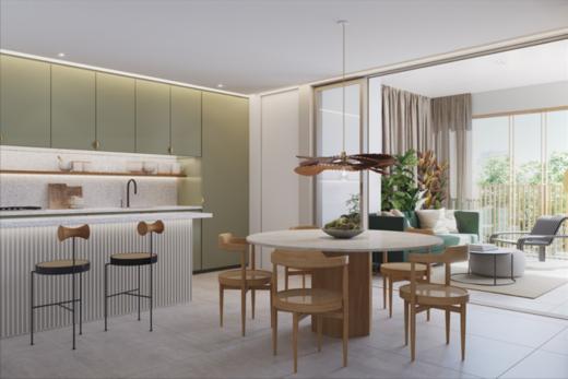 Living - Apartamento 2 quartos à venda Rio de Janeiro,RJ - R$ 1.982.200 - II-16762-27410 - 3