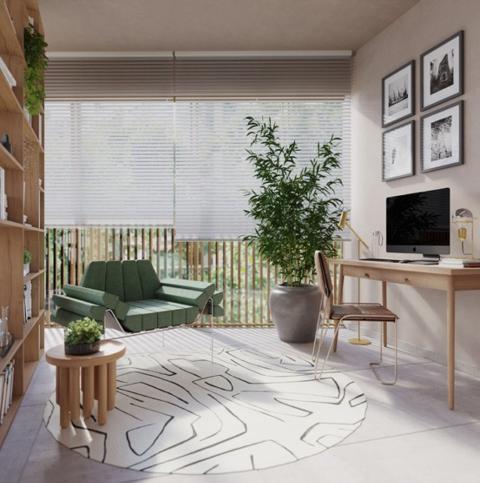 Living - Apartamento 2 quartos à venda Rio de Janeiro,RJ - R$ 1.982.200 - II-16762-27410 - 4