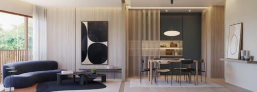 Living - Apartamento 2 quartos à venda Rio de Janeiro,RJ - R$ 1.982.200 - II-16762-27410 - 5