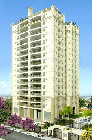 Fachada - Apartamento 4 quartos à venda Barra da Tijuca, Rio de Janeiro - R$ 2.425.350 - II-16619-27223 - 1