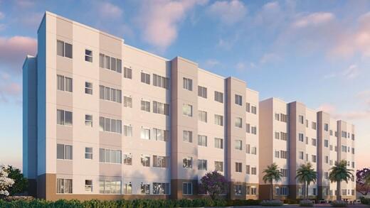 Fachada - Apartamento 1 quarto à venda Campo Grande, Rio de Janeiro - R$ 139.000 - II-16886-27662 - 1