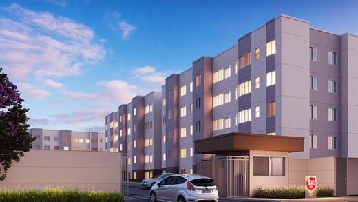 Fachada - Apartamento 1 quarto à venda Campo Grande, Rio de Janeiro - R$ 139.000 - II-16886-27662 - 3