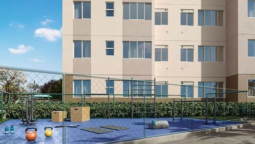 Fitness - Apartamento 1 quarto à venda Campo Grande, Rio de Janeiro - R$ 139.000 - II-16886-27662 - 5
