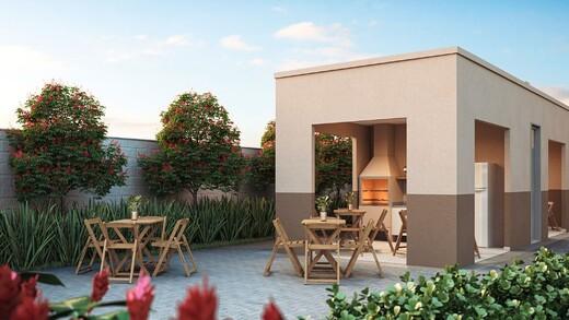 Churrasqueira - Apartamento 1 quarto à venda Campo Grande, Rio de Janeiro - R$ 139.000 - II-16886-27662 - 6