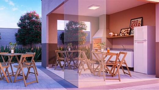 Churrasqueira - Apartamento 1 quarto à venda Campo Grande, Rio de Janeiro - R$ 139.000 - II-16886-27662 - 8