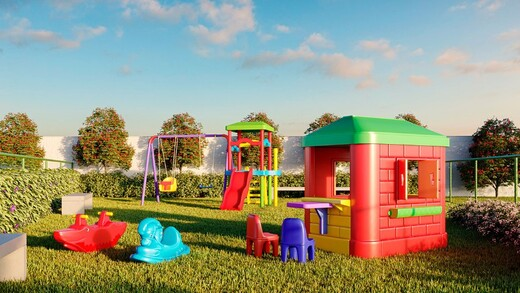 Playground - Apartamento 1 quarto à venda Campo Grande, Rio de Janeiro - R$ 139.000 - II-16886-27662 - 10