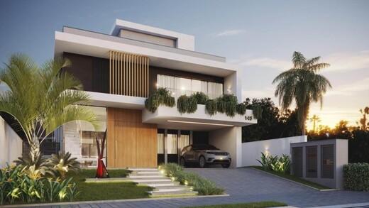 Fachada - Casa em Condomínio 5 quartos à venda Barra da Tijuca, Rio de Janeiro - R$ 6.200.000 - II-17146-28196 - 1