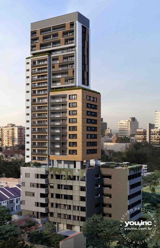 Fachada - Apartamento 3 quartos à venda Pinheiros, São Paulo - R$ 1.642.500 - II-17454-28585 - 1