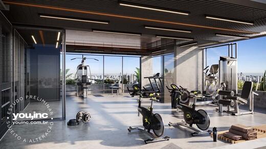 Fitness - Apartamento 3 quartos à venda Pinheiros, São Paulo - R$ 1.642.500 - II-17454-28585 - 5