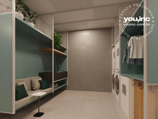 Lavanderia - Apartamento 3 quartos à venda Pinheiros, São Paulo - R$ 1.642.500 - II-17454-28585 - 7