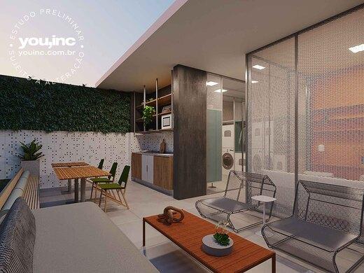 Espaco gourmet externo - Apartamento 3 quartos à venda Pinheiros, São Paulo - R$ 1.642.500 - II-17454-28585 - 12