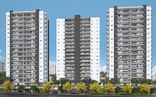 Fachada - Apartamento 4 quartos à venda Vila Mariana, São Paulo - R$ 2.070.412 - II-17496-28655 - 1
