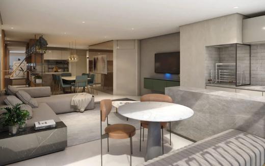 Living - Apartamento 4 quartos à venda Vila Mariana, São Paulo - R$ 2.070.412 - II-17496-28655 - 4