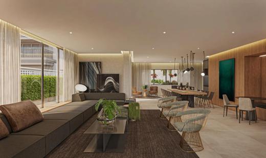 Salao de festas - Apartamento 4 quartos à venda Vila Mariana, São Paulo - R$ 2.070.412 - II-17496-28655 - 9