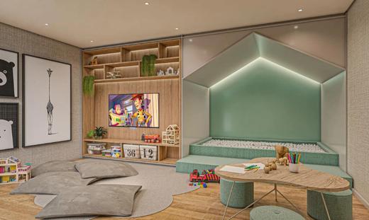 Brinquedoteca - Apartamento 4 quartos à venda Vila Mariana, São Paulo - R$ 2.070.412 - II-17496-28655 - 11