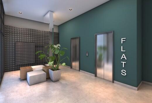 Hall - Studio à venda Rua Ministro Ferreira Alves,Vila Pompéia, São Paulo - R$ 302.775 - II-17573-28781 - 4