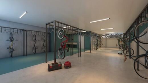 Bicicletario - Studio à venda Rua Ministro Ferreira Alves,Vila Pompéia, São Paulo - R$ 302.775 - II-17573-28781 - 12