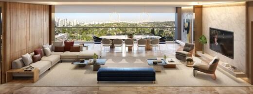 Living - Apartamento 3 quartos à venda Campo Belo, São Paulo - R$ 2.283.596 - II-17534-28710 - 5
