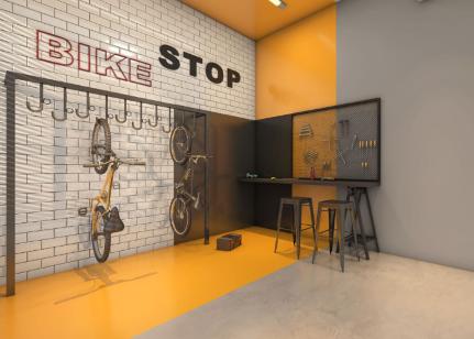 Bicicletario - Fachada - Nex One Consolação Belas Artes - 859 - 16