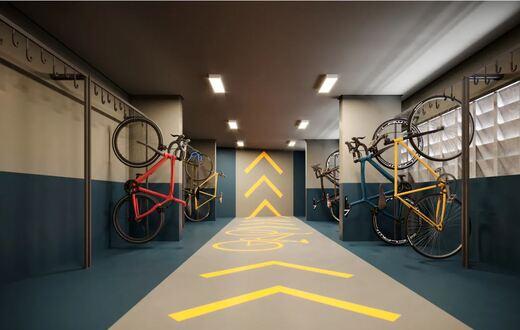 Bicicletario - Fachada - Vivaz Estação Vila Prudente - 937 - 5