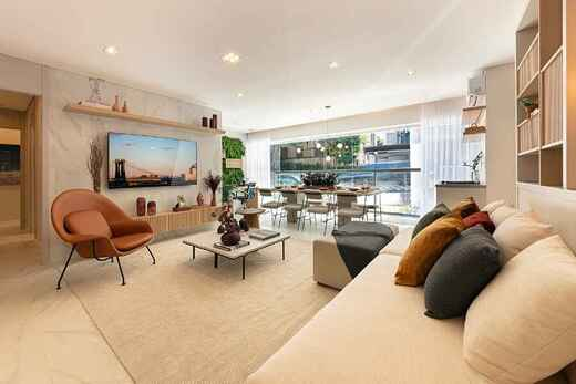 Living - Apartamento à venda Rua Major Maragliano,Vila Mariana, São Paulo - R$ 1.724.810 - II-17676-29004 - 9