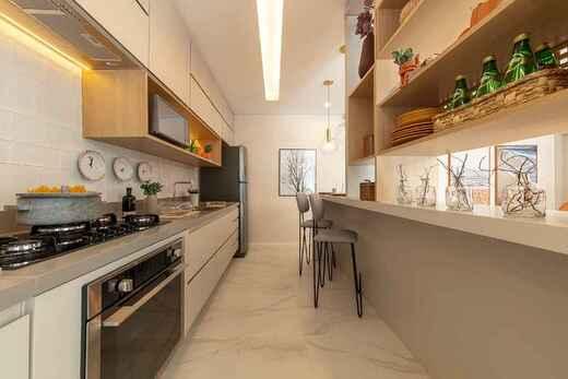 Cozinha - Apartamento à venda Rua Major Maragliano,Vila Mariana, São Paulo - R$ 1.724.810 - II-17676-29004 - 13