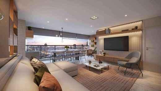 Living - Apartamento à venda Rua Major Maragliano,Vila Mariana, São Paulo - R$ 1.724.810 - II-17676-29004 - 6