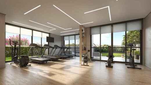 Fitness - Apartamento à venda Rua Major Maragliano,Vila Mariana, São Paulo - R$ 1.724.810 - II-17676-29004 - 22