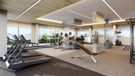Fitness - Apartamento à venda Rua Vergueiro,Ipiranga, São Paulo - R$ 606.329 - II-17784-29548 - 4