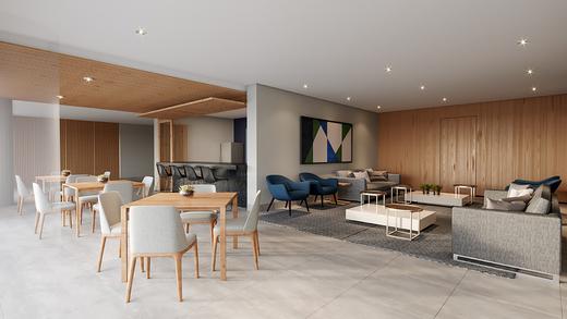Salao de festas - Apartamento à venda Rua Vergueiro,Ipiranga, São Paulo - R$ 606.329 - II-17784-29548 - 5