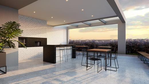 Churrasqueira - Apartamento à venda Rua Vergueiro,Ipiranga, São Paulo - R$ 606.329 - II-17784-29548 - 13