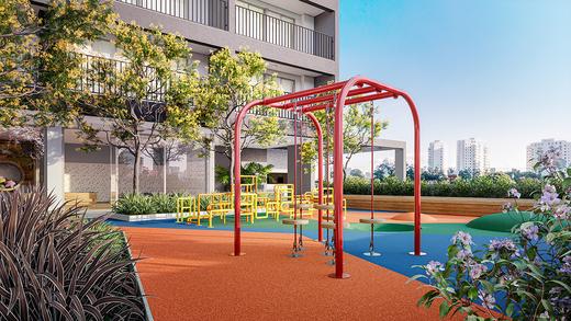 Playground - Apartamento à venda Rua Vergueiro,Ipiranga, São Paulo - R$ 606.329 - II-17784-29548 - 15