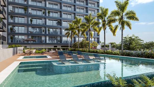 Piscina - Apartamento à venda Rua Vergueiro,Ipiranga, São Paulo - R$ 606.329 - II-17784-29548 - 17
