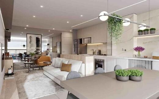 Living - Apartamento à venda Rua do Lago,Ipiranga, São Paulo - R$ 528.704 - II-17720-29296 - 6