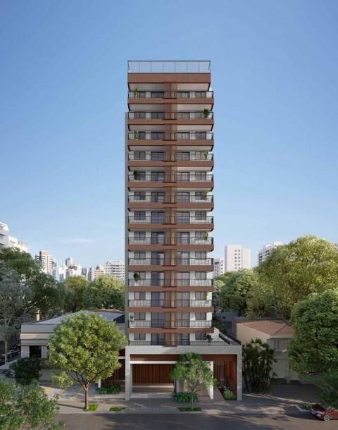 Fachada - Apartamento 1 quarto à venda Campo Belo, São Paulo - R$ 361.000 - II-17756-29370 - 1
