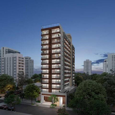Fachada - Apartamento 1 quarto à venda Campo Belo, São Paulo - R$ 361.000 - II-17756-29370 - 3